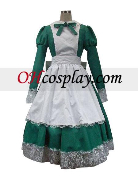 Ос правомощия Hetalia Лолита еднакво Cosplay костюм