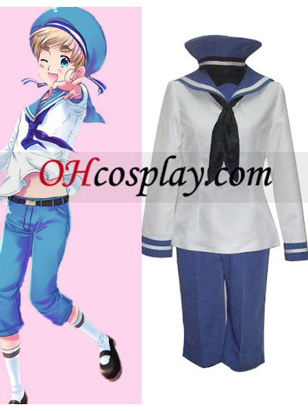 Seeland Peter Kirkland Cosplay Costume from Axis Powers Hetalia