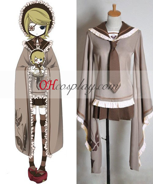 Vocaloid Thousand Cherry Tree Kagamine Rin Cosplay Costume