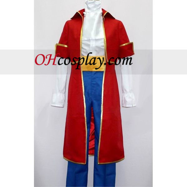 Roderich (Austria) Red Costume from Axis Powers Hetalia