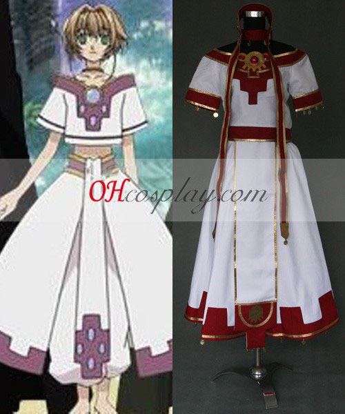 Reservatório Chronicle Sakura Cosplay Traje