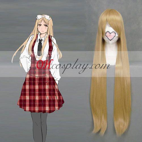Hetalia Natalia Alfroskaya Golden Cosplay Wig