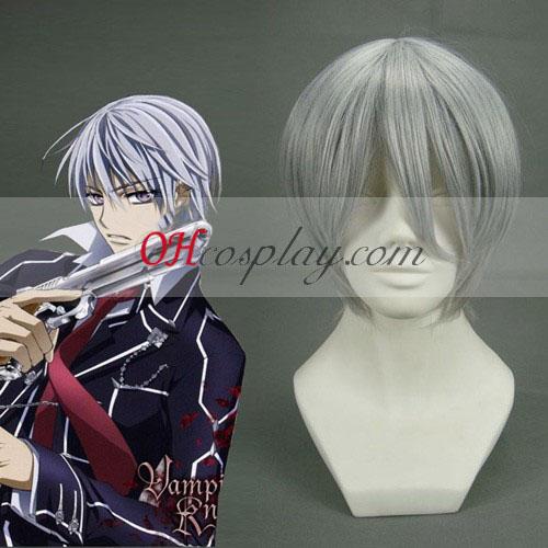 Black Butler Cinzas Ciel Phantomhive branco acinzentado Cosplay peruca