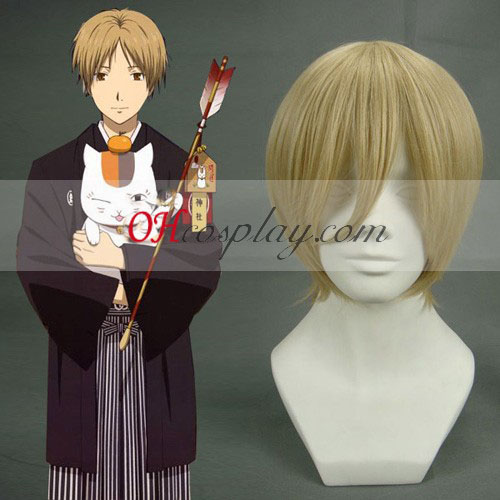 Axis Powers Hetalia Feliciano Vargas Straw Yellow Cosplay Wig