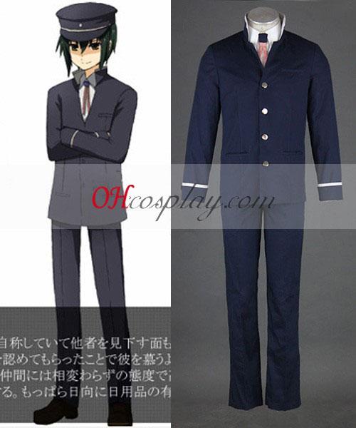 Angel Beats! Ayato NaOH udklædning Kostume