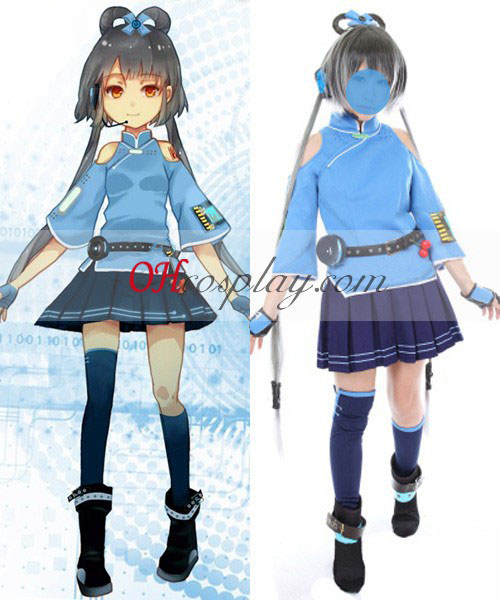 Vocaloid Proyecto China Luo Tianyi cosplay