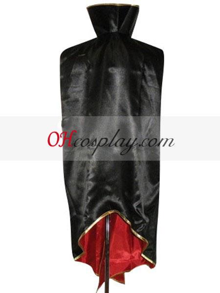 Код Geass Lelouch нула черно плащ Cosplay костюм