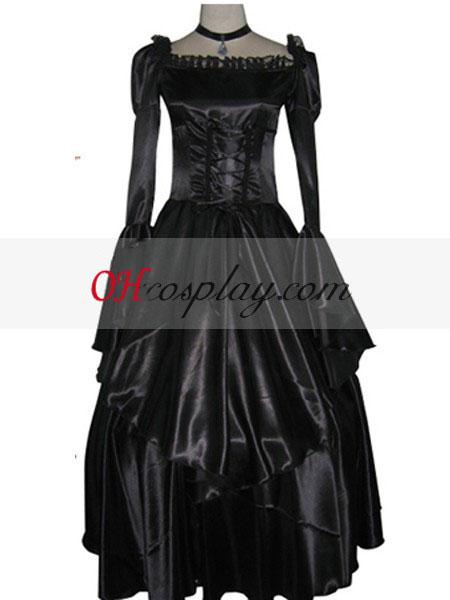 Код Geass C. C черно рокля Cosplay костюм