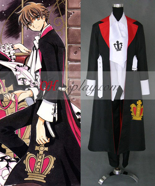Säiliön Chronicle Syaoran Li Cosplay asu