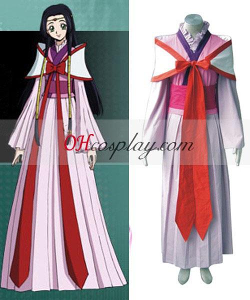 Код Geass Kaguya Sumeragi Cosplay костюм