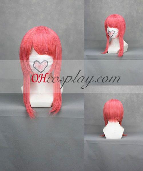 Код Geass Anya Alstreim розов Cosplay вълна Wig