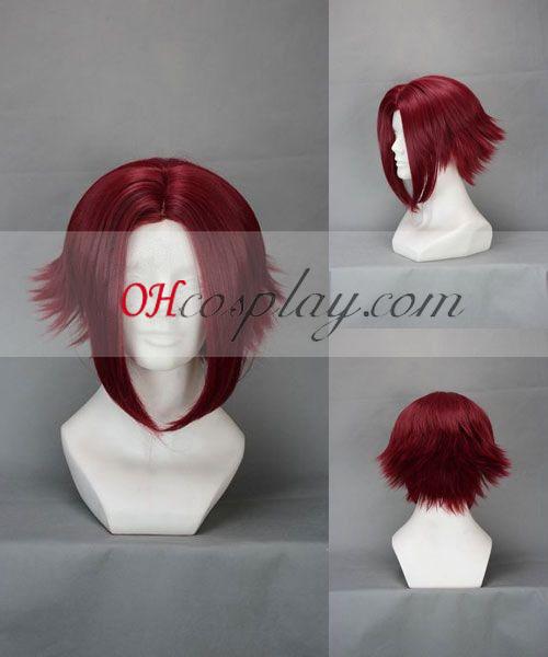 Код Geass Kallen тъмночервено Cosplay Wig