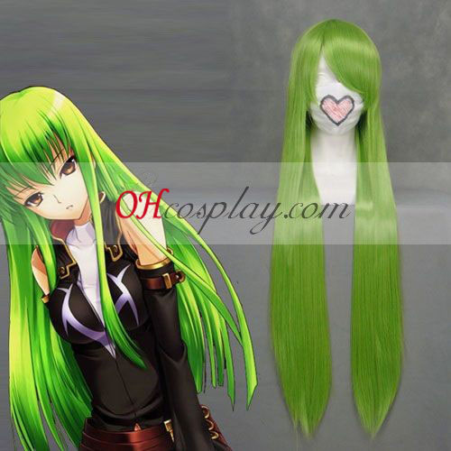 Code Geass C.C Green Cosplay Wig