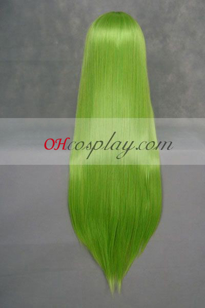 Код Geass Lelouch Vi Britannia зелена Cosplay Wig