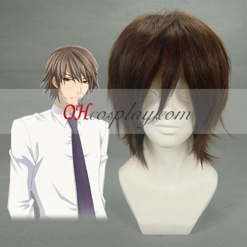 קוד גיאס kururugi suzaku קוספליי פאה בצבע חום כהה