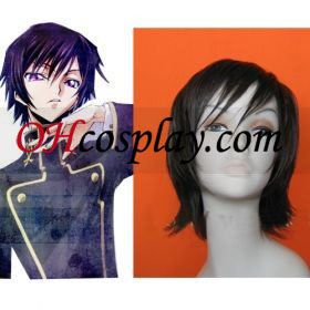 Code Geass Cosplay peruca Zero Lelouch Lamperouge