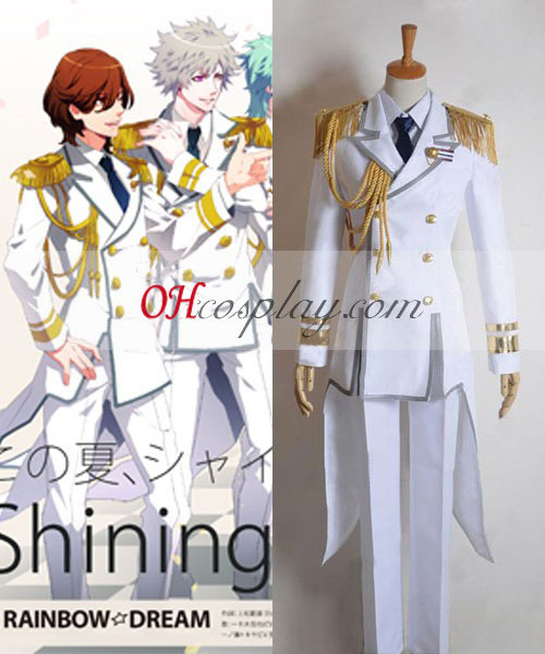 Uta no Prince-sama Shining Shining All Star QUARTETO NOITE cantando Cosplay