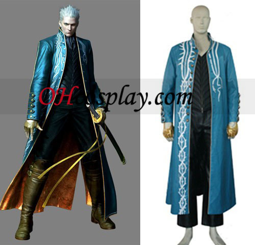 Devil May Cry 3 Cosplay Vergil öltözetben