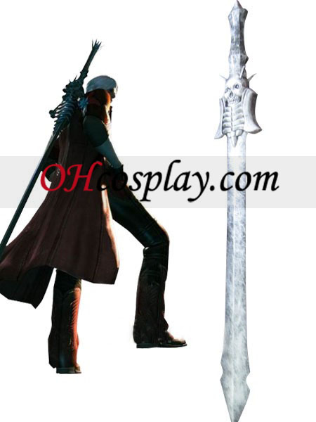Devil May Cry Cosplay Espada Prata