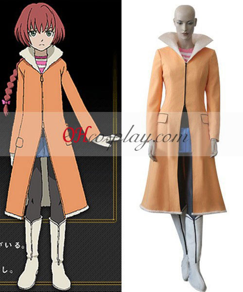 Darker Than Black Suou Pavlichenko Costume Carnaval Cosplay