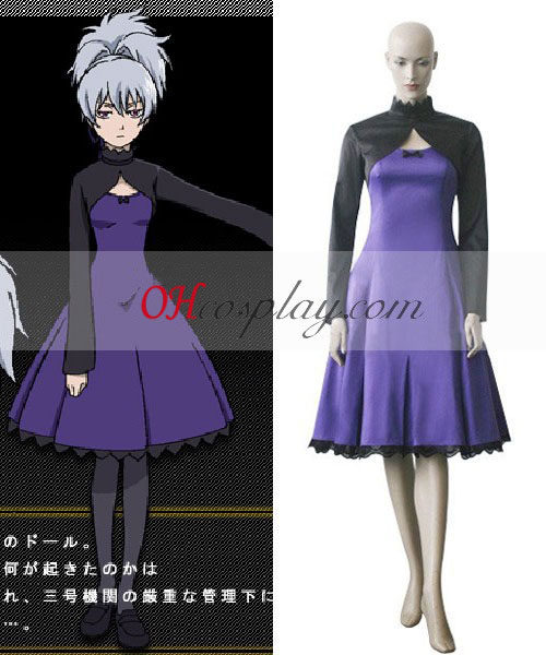 Darker Than Black Yin Cosplay Kostüme Kostüm