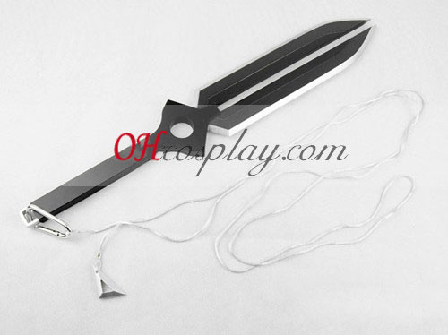 Dark than Black Hei Cosplay Sword glued to Chain (Deluxe Edition)