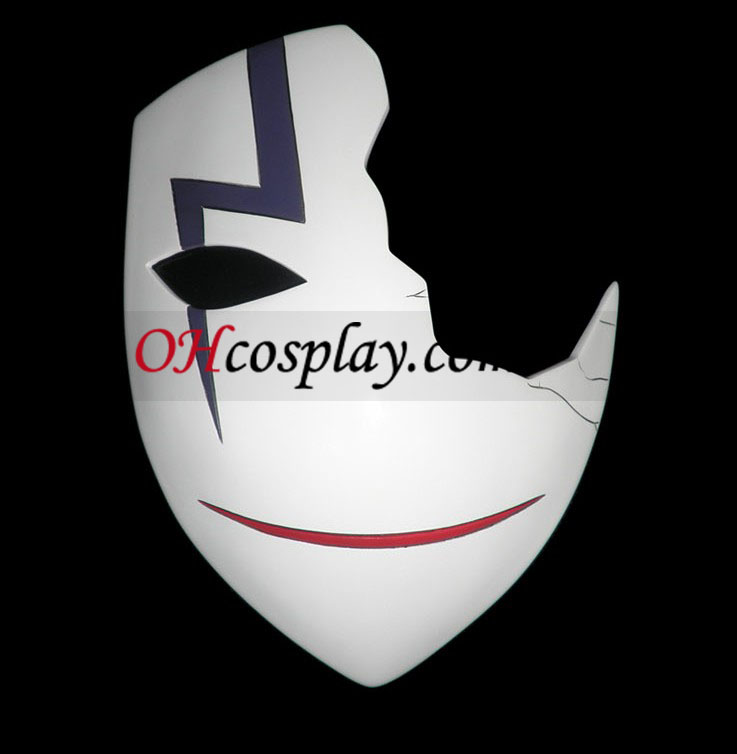 Più scuro nero Accessori Cosplay Hei Mask D(Deluxe Edition)