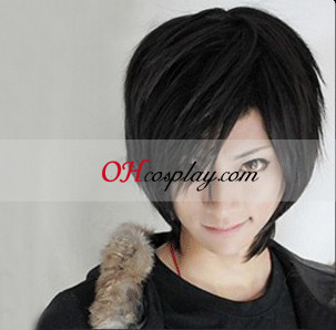Dark than Black Hei Cosplay Wig Australia - Black