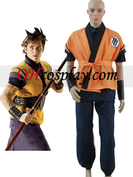 Dragon Ball Film Goku Cosplay kostyme