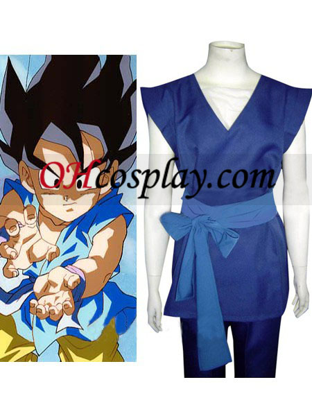 Dragon Ball poikansa Vegetalla Cosplay asu
