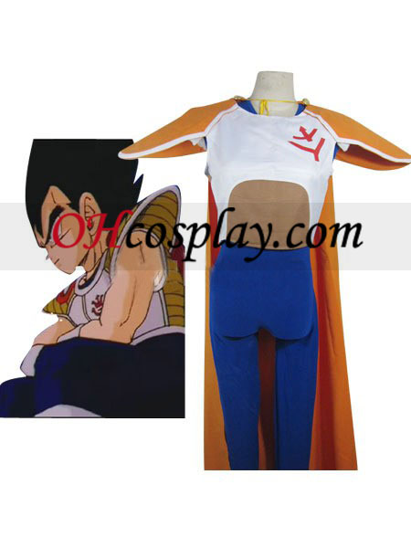 Dragon Ball Vegeta Super Prince uniforme combinado Pano Couro bijuterias