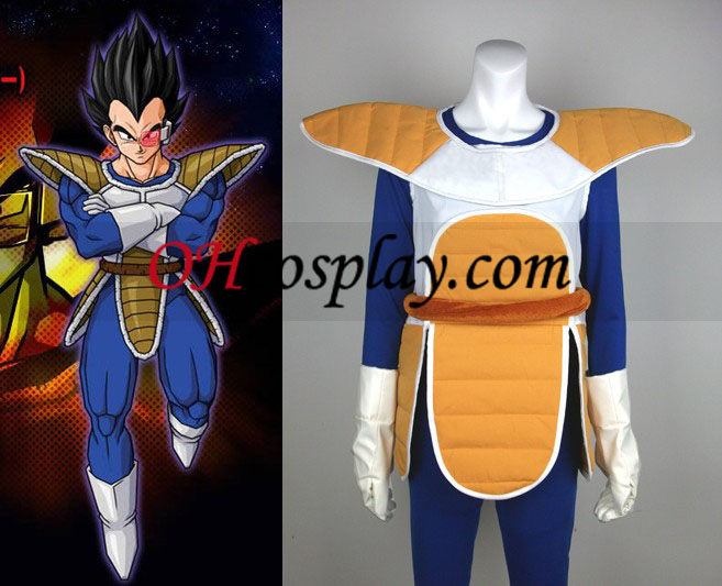 Dragon Ball Vegetalle Cosplay asu