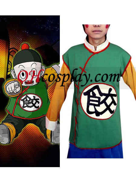 Dragon Ball Chiao-tzu Cosplay Traje