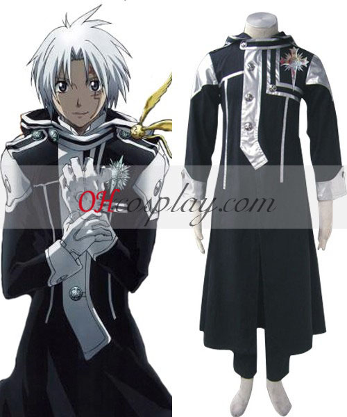 D. Gray-man Cosplay Allen Walker 1ª uniforme Traje
