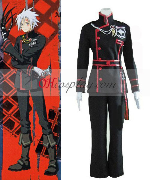 D Gray-man Cosplay Allen Walker 3ª uniforme Traje