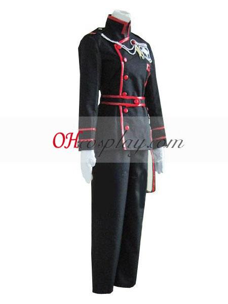 D Gray-man Allen Walker 3rd Uniform Cosplay Costume