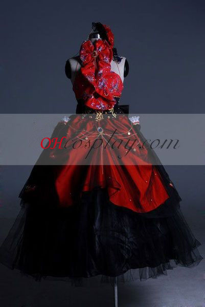 Vocaloid Megurine Luka Costume-Advanced Cosplay Personalizado