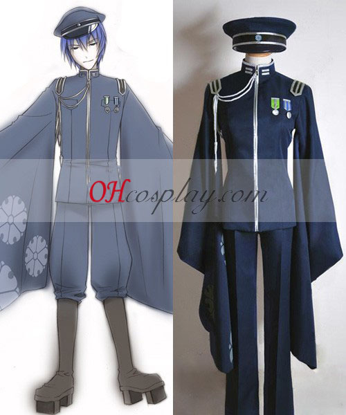 Vocaloid Duizend Cherry Tree Uniform Kaito Cosplay Costume