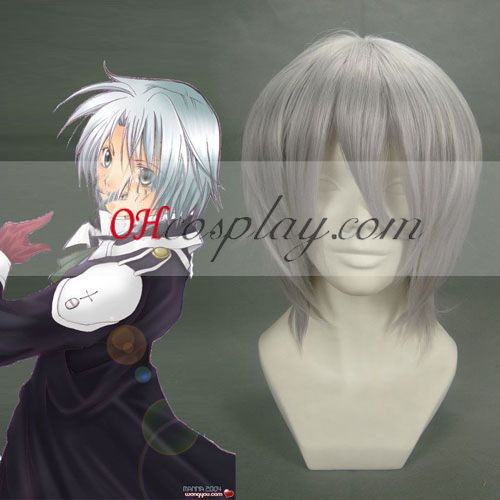 D. Gray-man Allen Walker Sliver Cosplay Wig