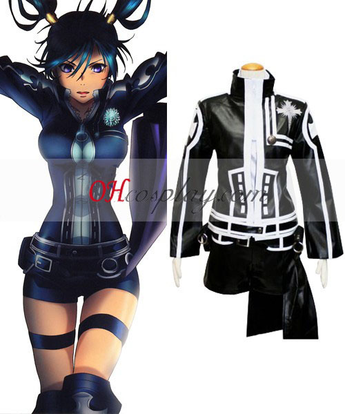 D. Gray-man Cosplay Lenalee 2º uniforme Traje