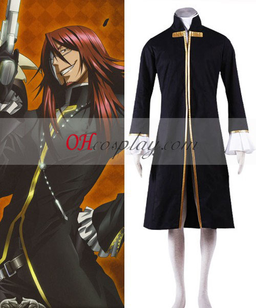 D Gray-man Cross Maria Cosplay Kostym