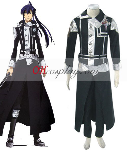 D.Gray-mannen Yuu Uniform Cosplay Kostym