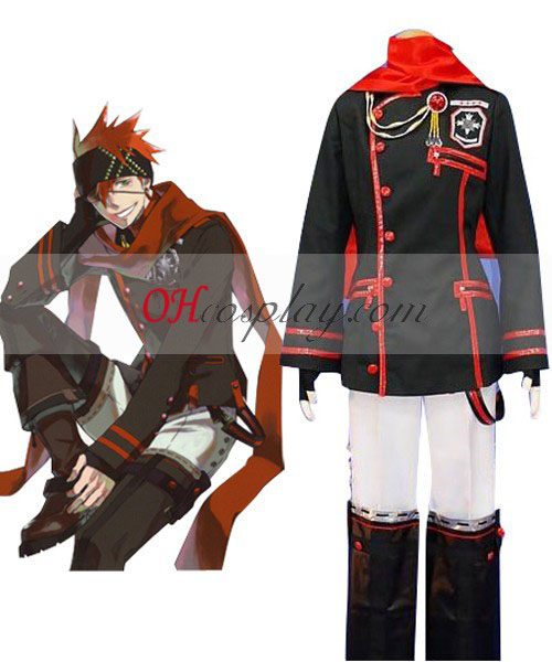 D. Gray-man o IVAE 3ª uniforme Traje Cosplay