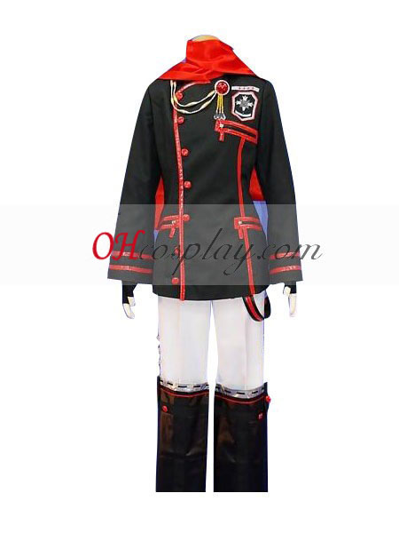 D.Gray-man Lavi 3rd Uniform udklædning Kostume