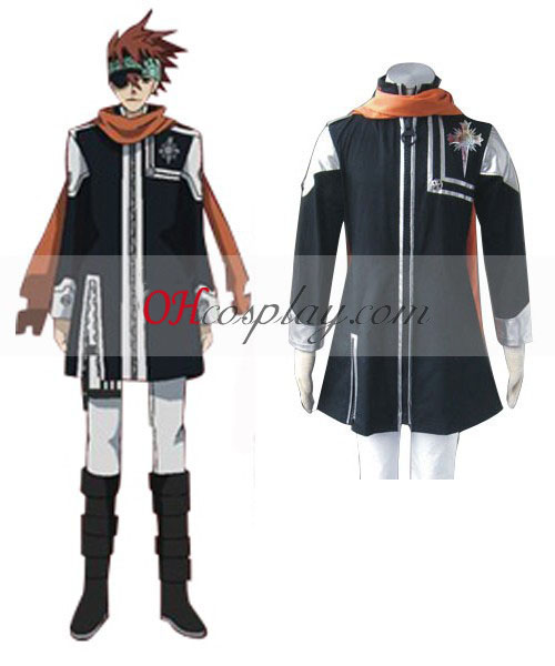 D.Gray-mannen Lavi Ist Uniform Cosplay Kostym