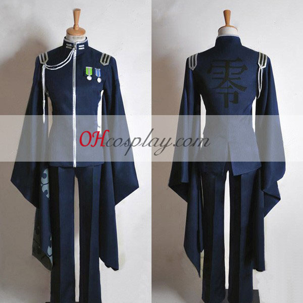 Vocaloid Thousand Cherry Tree Kaito Uniform udklædning Kostume