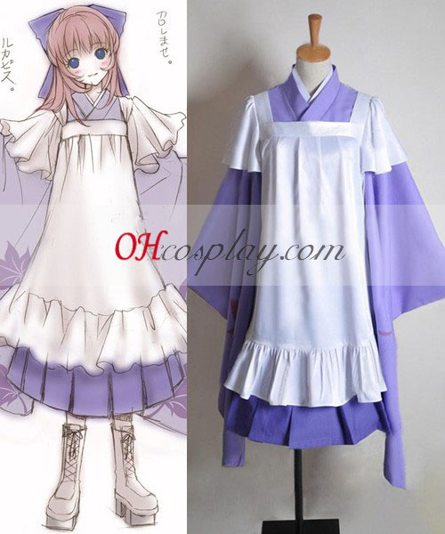 Vocaloid Thousand Cherry Tree Luka Cosplay Kostym