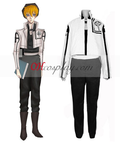 D Gray-Man Bak Chan Cosplay Traje