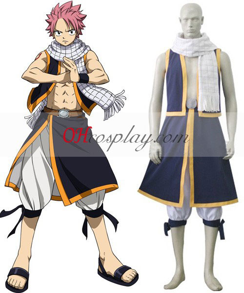 Fairy Tail Natsu Dragneel Cosplay Traje