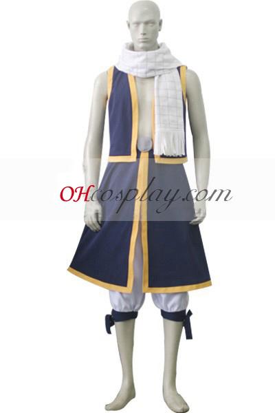 Приказка задни Natsu Dragneel Cosplay костюм
